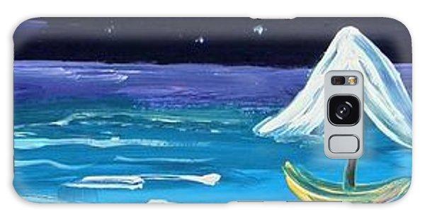 Full Moon Full Sail Galaxy Case
