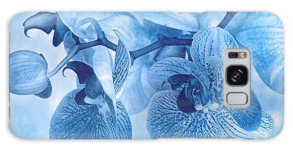 Full Moon Orchids Galaxy Case