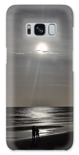 Full Moon Over Daytona Beach Galaxy Case