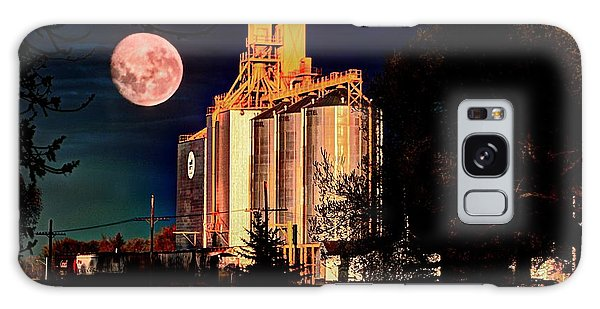 Full Moon Over Elevator Galaxy Case