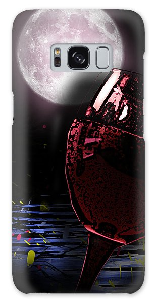 Full Moon Galaxy Case by Persephone Artworks