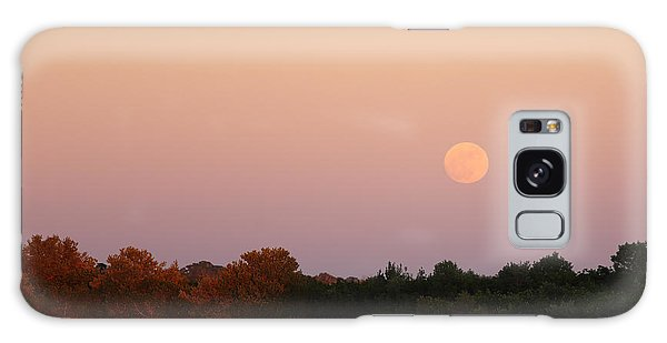 Full Moon Rise At Ozello Galaxy Case