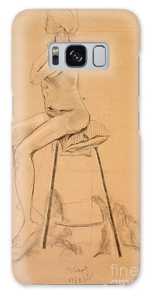 Full Nude Profile Galaxy Case by Gabrielle Schertz