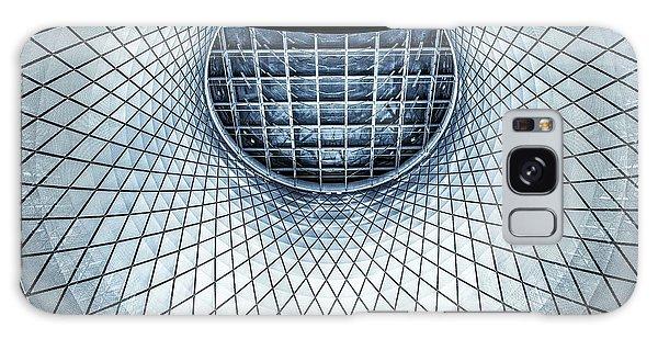 Round Galaxy Case - Fulton Street by Ute Scherhag