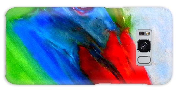 Funky Colorful Pelican Art Prints Galaxy Case