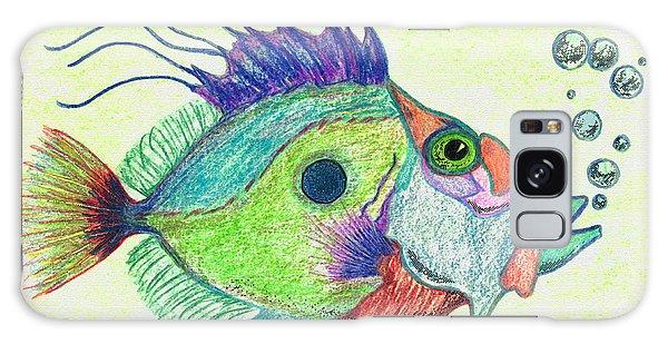 Scuba Diving Galaxy Case - Funky Fish Art - By Sharon Cummings by Sharon Cummings