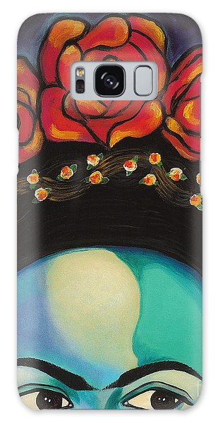 Galaxy Case featuring the painting Funky Frida by Carla Bank