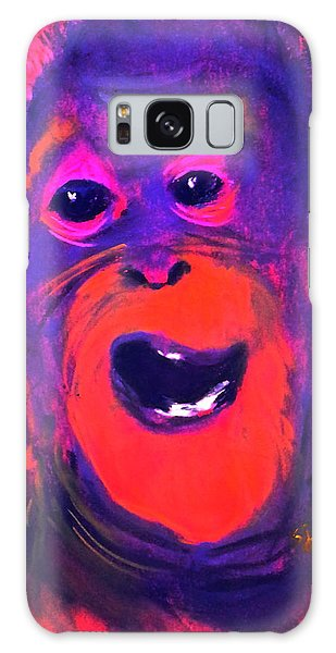 Funky Monkey Happy Chappy Galaxy Case