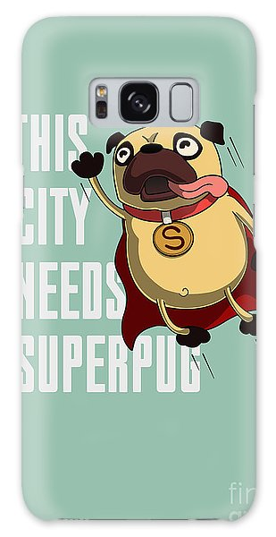 Speed Galaxy Case - Funny Cartoon Character Pug Design For by Just draw