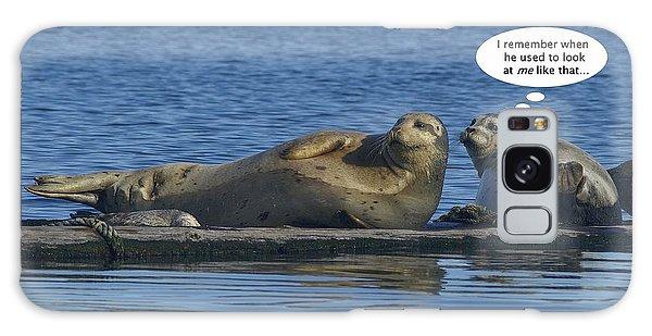 Funny Seals Galaxy Case