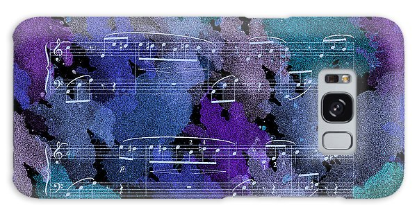 Fur Elise Music Digital Painting Galaxy Case