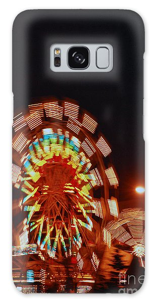 Fur Rondy Ferris Wheel In Anchorage Galaxy Case