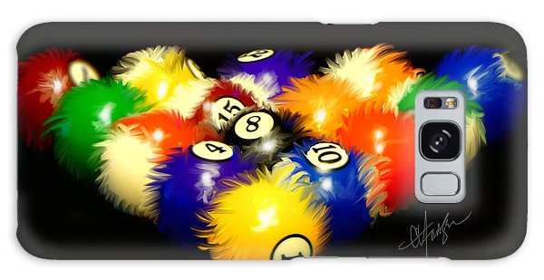 Fuzzy Billiards Galaxy Case