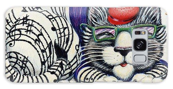 Fuzzy Catterwailen Galaxy Case by Dee Davis