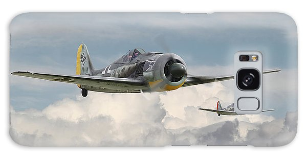 Cloudscape Galaxy Case - Fw 190 - Butcher Bird by Pat Speirs