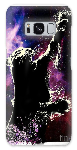 Galaxy Galaxy Case - Galactic Tiger by Sassan Filsoof