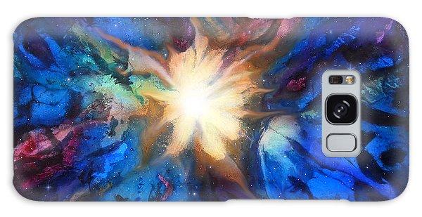 Flor Boreal Galaxy Case by Angel Ortiz