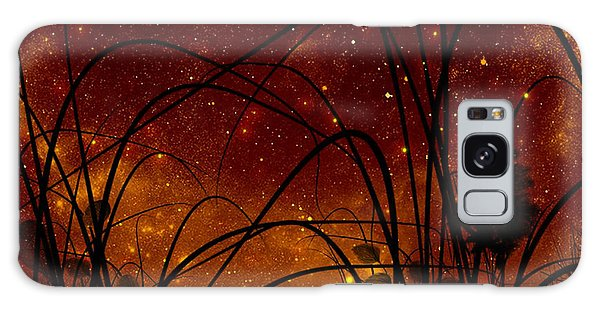 Galaxy Galaxy Case by Persephone Artworks