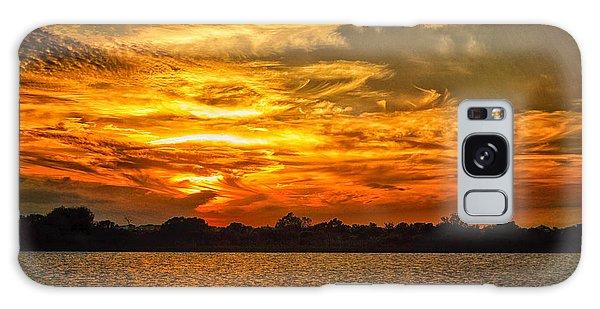 Galveston Island Sunset Dsc02805 Galaxy Case