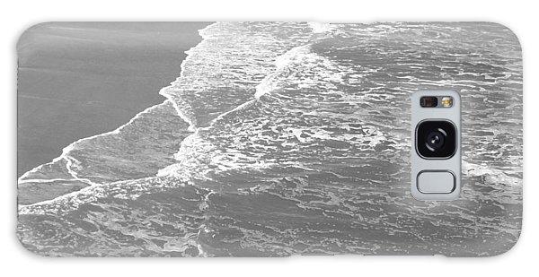 Galveston Tide In Grayscale Galaxy Case