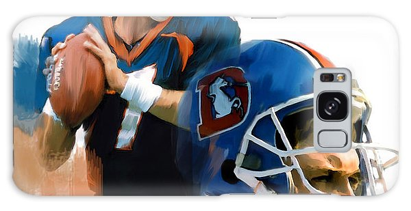 Game Elway  John Elway Galaxy Case by Iconic Images Art Gallery David Pucciarelli