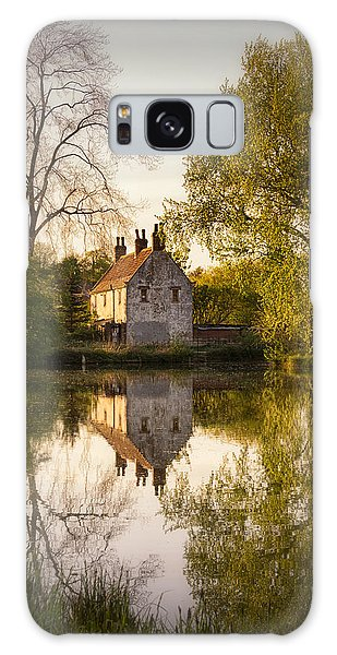 Cottage Galaxy Case - Game Keepers Cottage Cusworth by Ian Barber