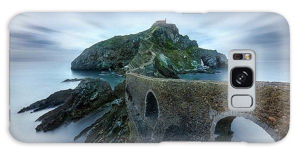 Long Exposure Galaxy Case - Games Of Thrones - Dragonstone Island -san Juan De Gaztelugatxe by Jes?s M. Garc?a