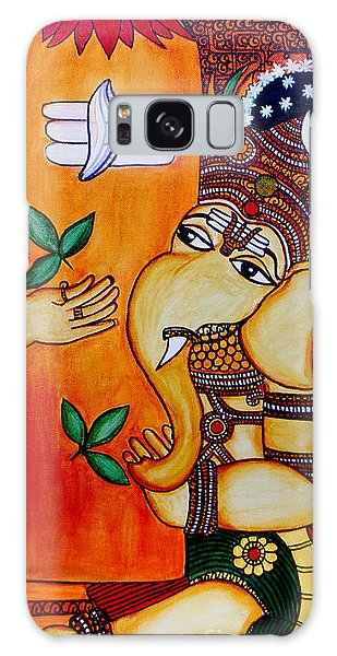 Ganapathy Galaxy Case by Saranya Haridasan