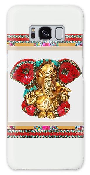 Ganapati Ganesh Idol Hinduism Religion Religious Spiritual Yoga Meditation Deco Navinjoshi  Rights M Galaxy Case