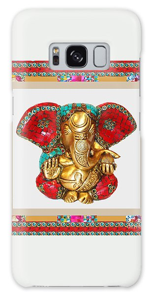 Ganapati Ganesh Idol Hinduism Religion Religious Spiritual Yoga Meditation Deco Navinjoshi  Rights M Galaxy Case