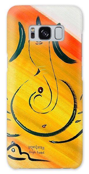 8 Ganesh Ekdhantaya Galaxy Case by Kruti Shah