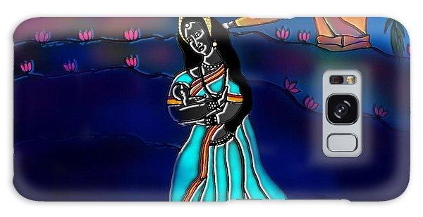 Ganga Devi And Santhanu Galaxy Case by Latha Gokuldas Panicker
