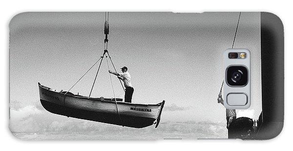 Docked Boats Galaxy Case - Garachico by Francisco Sanchez Fotografias