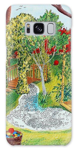 Galaxy Case - Garden # 1 by Zuzana Vass