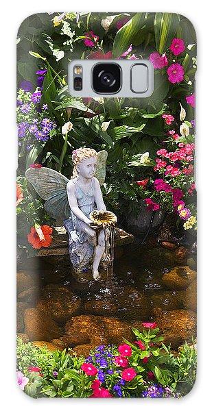 Fairy Pools Galaxy Case - Garden Angel by Garry Gay