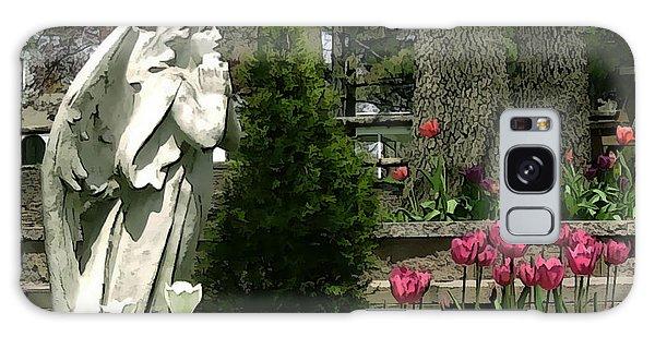 Garden Angel Galaxy Case