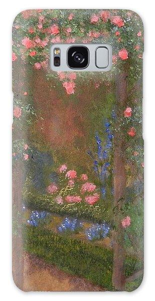 Garden Arbor  By Tanja Beaver Galaxy Case