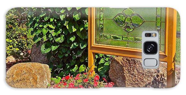 Garden Art Galaxy Case by Randy Rosenberger
