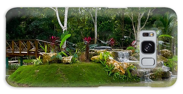 Garden At Good Hope Jamaica Galaxy Case