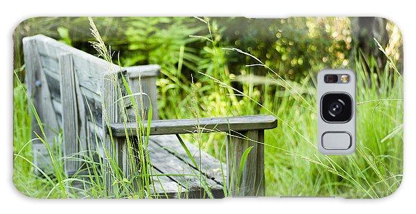 Garden Bench Galaxy Case