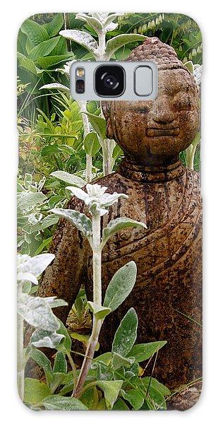 Garden Buddha Galaxy Case