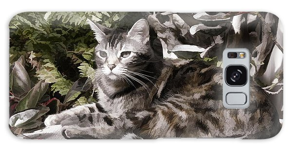 Garden Cat Galaxy Case