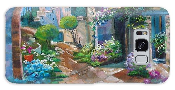 Garden Courtyard Galaxy Case