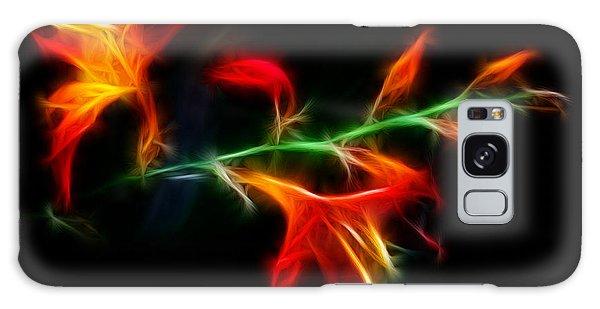 Garden Firecracker Galaxy Case