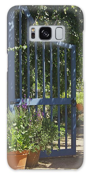 Garden Gate Galaxy Case