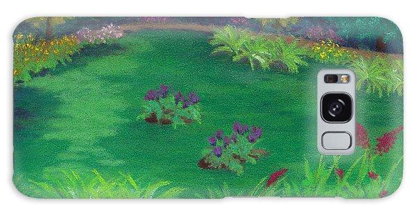 Garden In The Woods Galaxy Case
