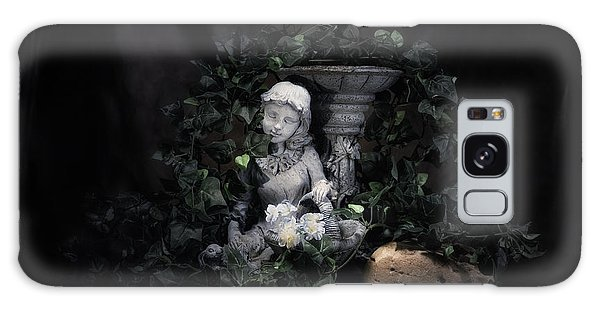 Basket Galaxy Case - Garden Maiden by Tom Mc Nemar