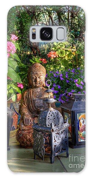 Garden Meditation Galaxy Case