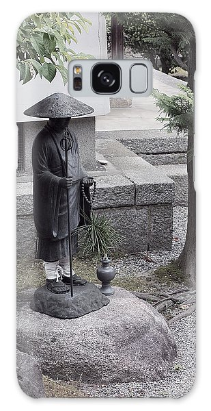 Kansai Galaxy Case - Zen Temple Garden Monk - Kyoto Japan by Daniel Hagerman