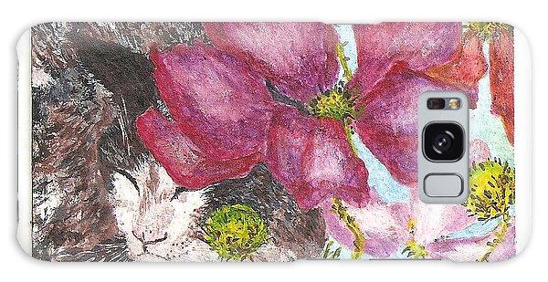 Garden Nap Galaxy Case by Reina Resto